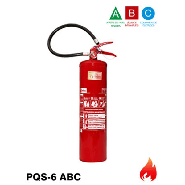 15be9fc39424a Extintor de Incêndio Pó Químico Seco ABC – 6kg (Portátil)
